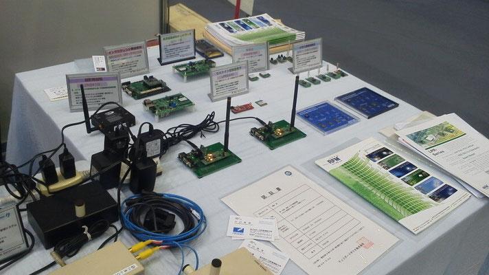 ムラタエレクトロニクス北米製無線モジュールの展示