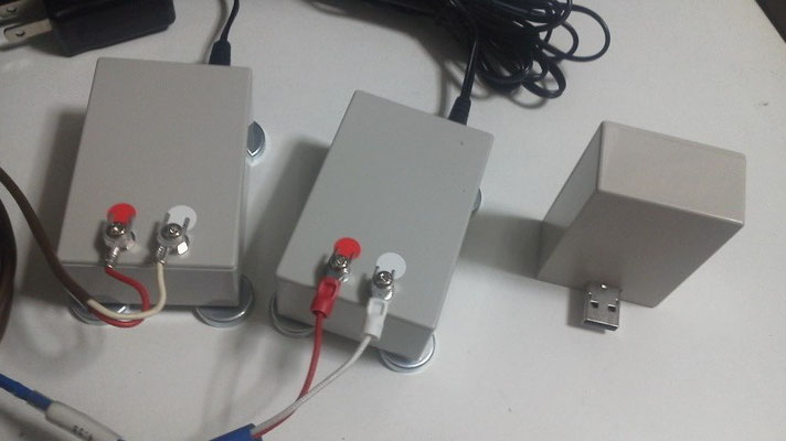 PCNW3型基本セット(無線親機1台と測定子機2台)