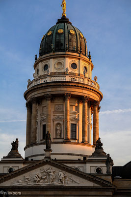 Deutscher Dom Berlin - Sunset