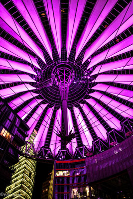 Sony Center Berlin - Night