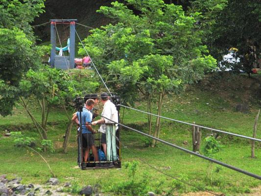 ...und Überquerung des Rio Cauca