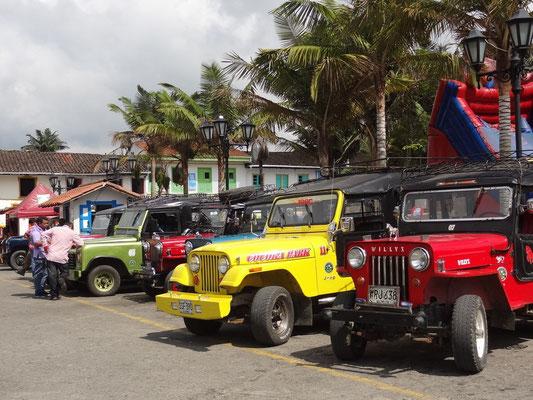 Willys Jeeps in Salento