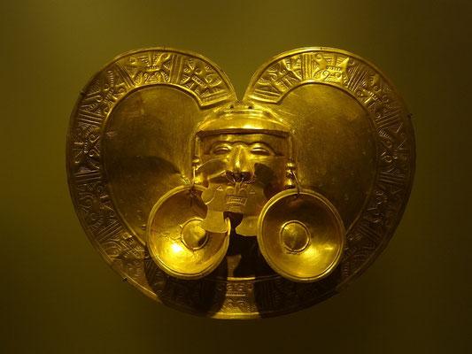 Im Goldmuseum Bogota