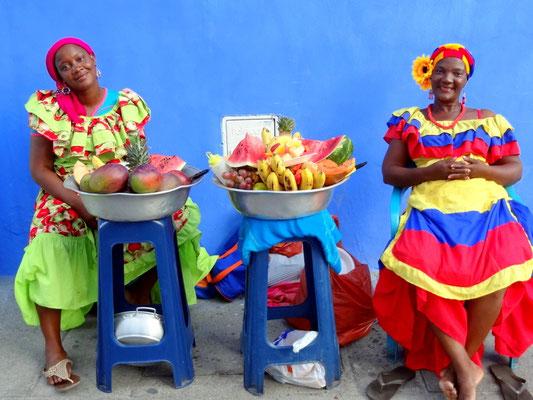 Palenqueras - Cartagena - Kolumbien