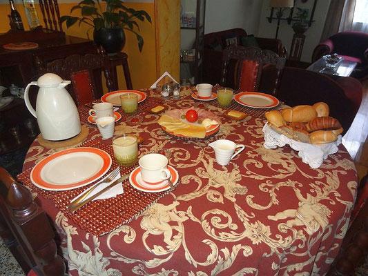 Das Casa Berlinesa Bogota bietet ein leckeres Frühstück