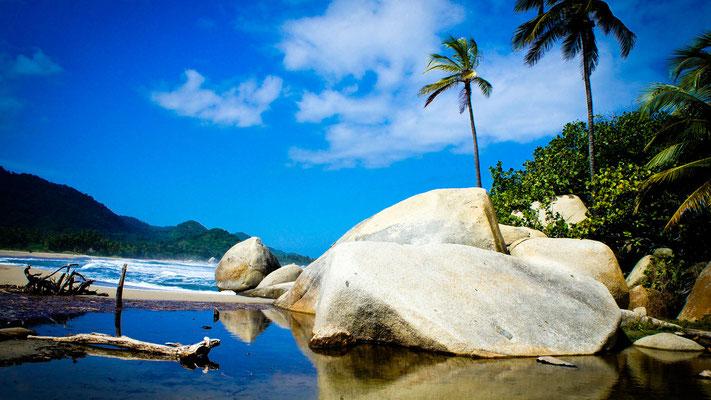 Strand in Tayrona - Karibikküste