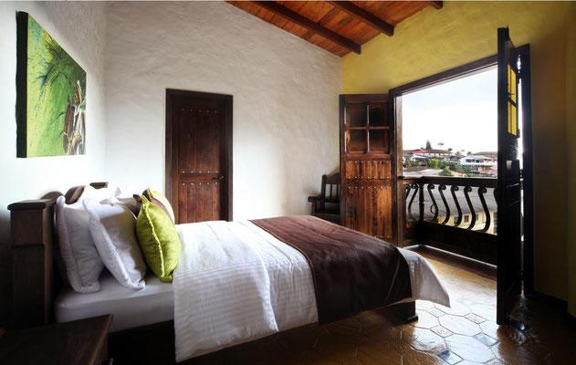 Superior Doppelzimmer mit kleinem Balkon