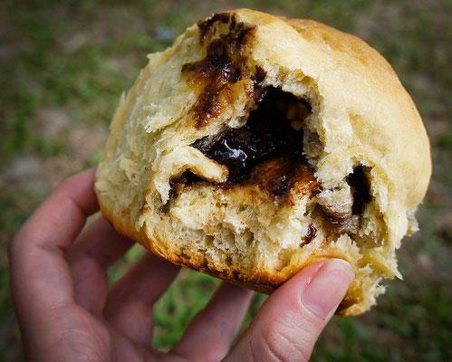 Tayrona Pan (Broetchen) mit Schokoladenfüllung