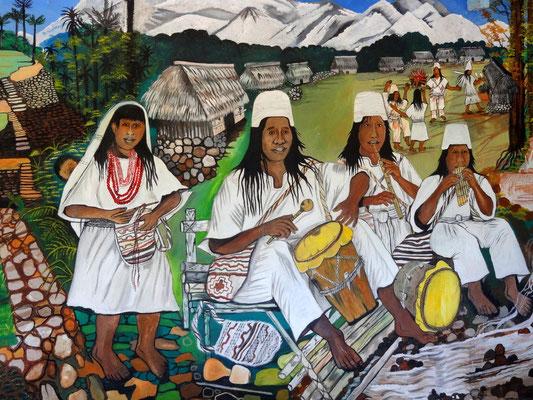 Bild der Tairona- Kultur, Vorfahren der heutigen Kogui- und Arhuaca- Indianer