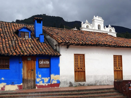 Bogota - koloniale Altstadt Canedlaria