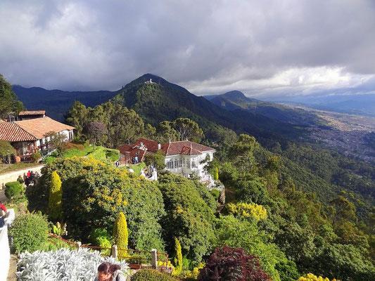 Bogota - Blick vom Cerro Monserrate