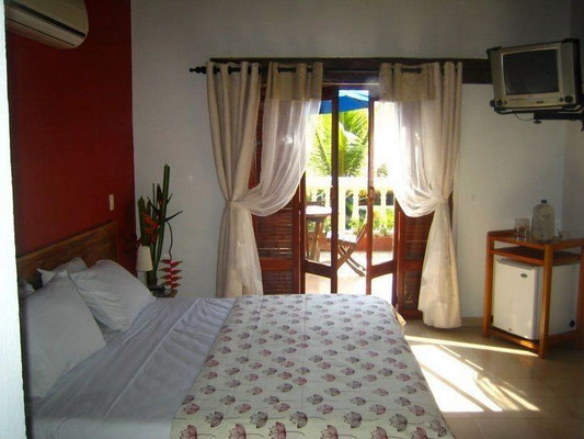 Doppelzimmer mit Terrasse des Hotel 3 Banderas Cartagena