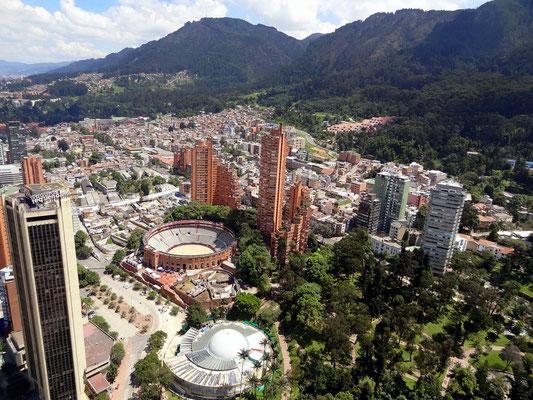Bogota - Skyline - Blick vom Torre Colpatria
