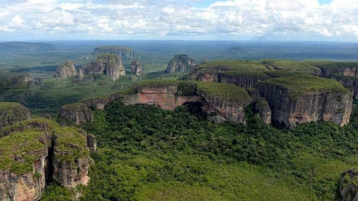Majestätische Tafelberge im Norden von Chiribiquete