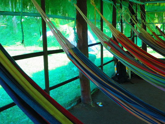 Hängematten Cabana - Tayrona Nationalpark