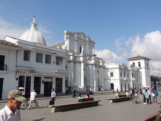 Plaza Parque de Caldas - Popayan