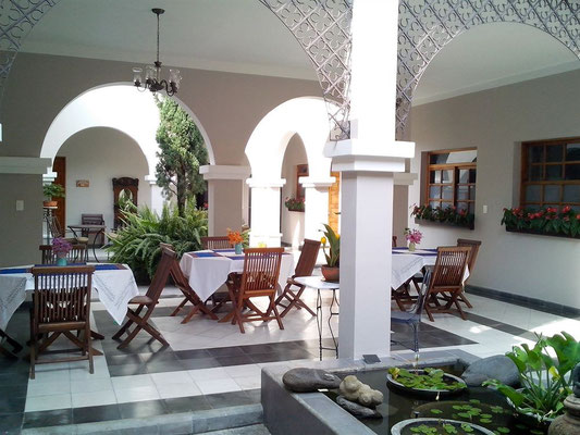 Hotel Don Alfonso Pereira - Patio