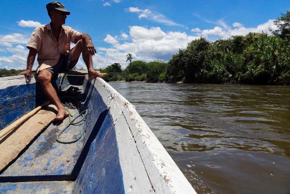 Auf dem Rio Madgalena