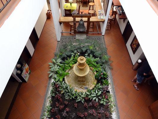 Blick in den Patio - Boutique Hotel San Antonio - Cali