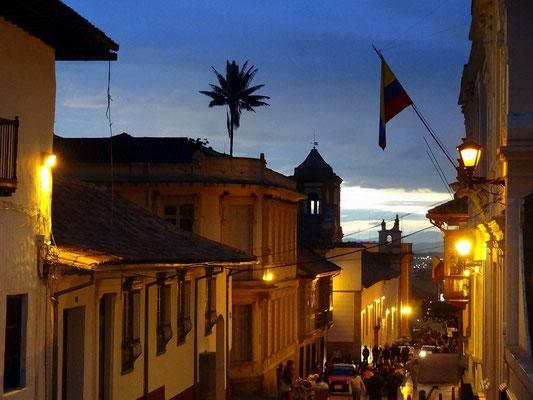 Bogota - Blick auf die koloniale Altstadt Candelaria