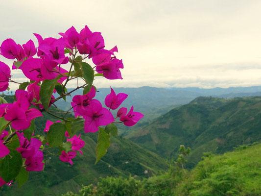 Blick in die Berge um San Agustin