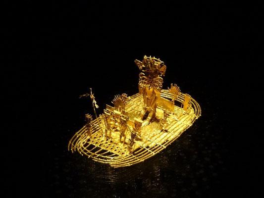 """Bogota - Goldmuseum - das berühmte """"Muisca Floss"""""""