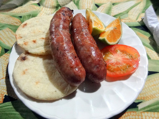 DIE Bratwurt Kolumbiens - Chorizos santarosanos
