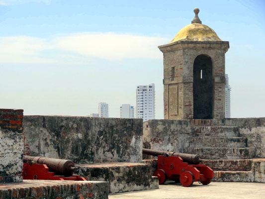 Castillo de San Felipe de Barajas - die Festung von Cartagena