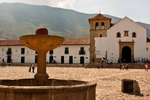 Plaza in Villa de Leyva