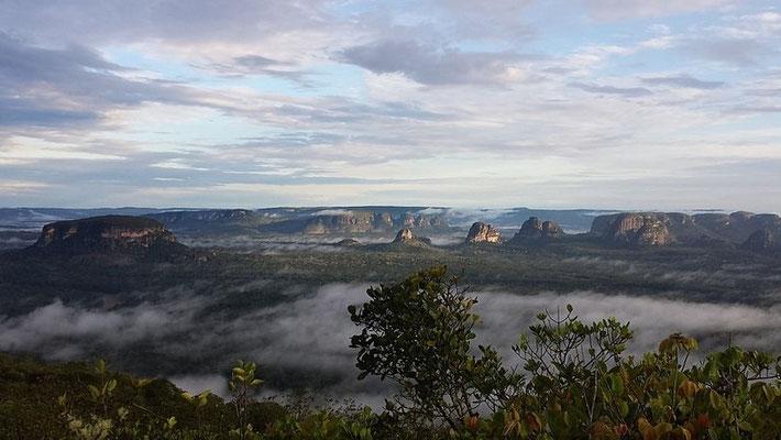 Blick auf den Chiribiquete Nationalpark