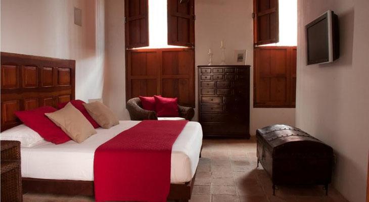 Komfortable Doppelzimmer im Casa del Agua San Marta