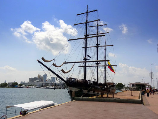 Der historischer Hafen - Cartagena - Kolumbien