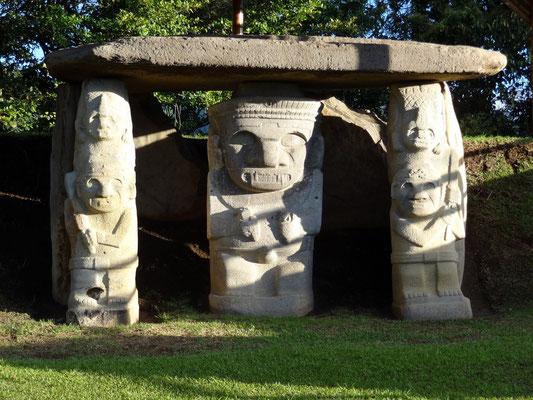 San Agustin - Archäologischer Park - Unesco Weltkulturerbe Park
