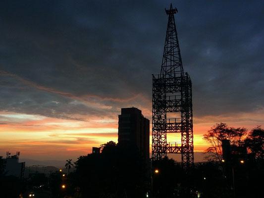 Sonnenuntergang in Manizales