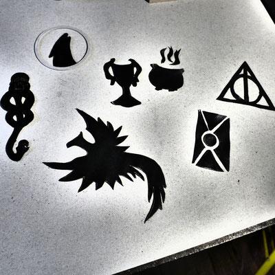 Symbole zu den einzelnen Bänden