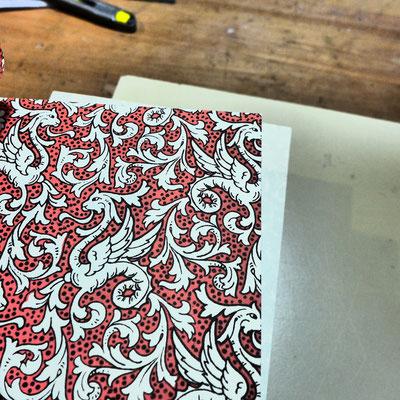 Dragon paper, Drachenvorsatzpapier