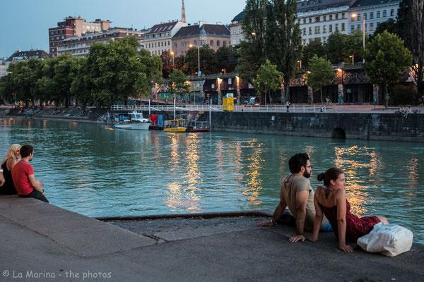 Sommer am Donaukanal