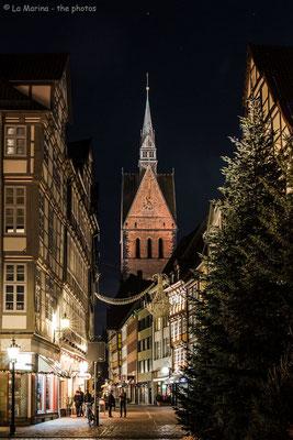 Die Altstadt mit Blick auf die Marktkirche