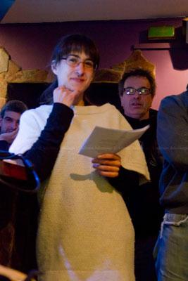 Getxo tabernan ARTE-KONTUAK: Ainhoa Ortells, Proiektu aurkezpenak.