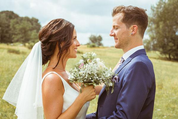 Hochzeitsbild Verena und Daniel beim Brautpaarshooting fotografiert von Timo Erlenwein Fotografie
