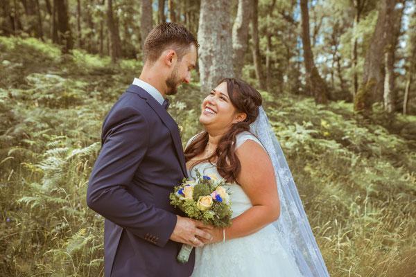 Hochzeit Valerie Simon Pärchenbild fotografiert von Timo Erlenwein Hochzeitsfotograf