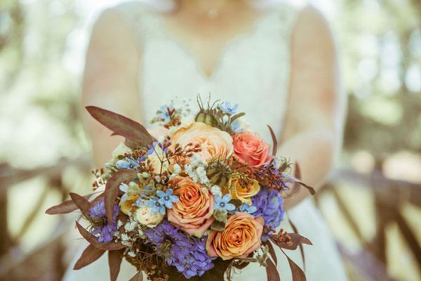 Hochzeitsbild vom Brautstrauß von Hochzeitsfotograf Timo Erlenwein