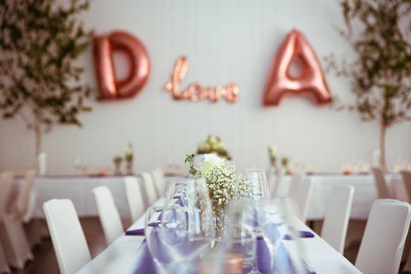 Hochzeitsbild von der Location vom Brautpaar Anne und Daniel von Hochzeitsfotograf Timo Erlenwein