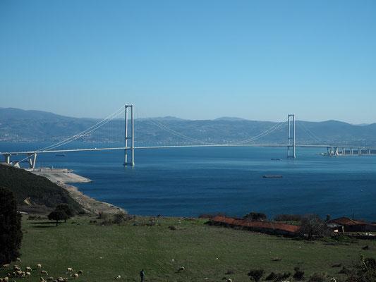 Brücke bei Istanbul