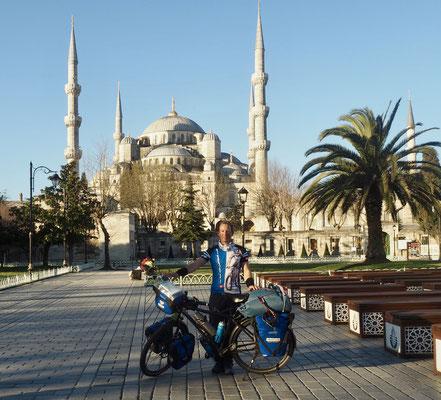 Abschiedsfoto von Istanbul