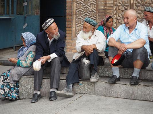 Stadtleben Kashgar