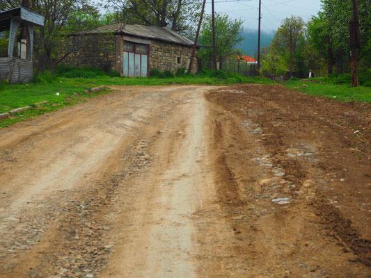 Strasse nach Tatev