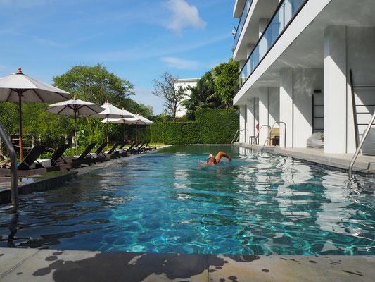Pool beim warmshower