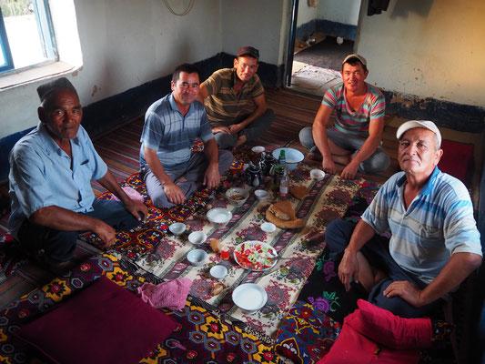 Männerrund - wie immer in Zentralasien