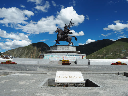 Denkmal Cesar Statue